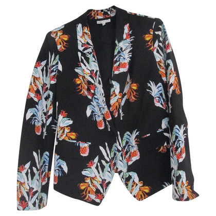 Rebecca Minkoff Blazer with a tropical print