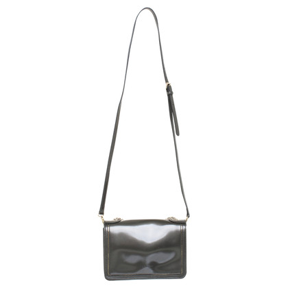 Coccinelle Patent leather shoulder bag