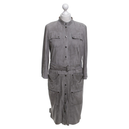 Marc Cain Blouse dress made of suede