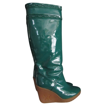 Céline Wedge boots