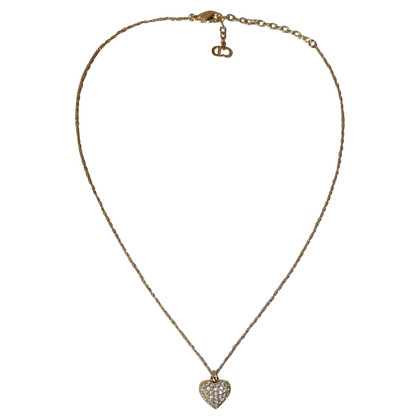 Christian Dior Necklace with heart pendant