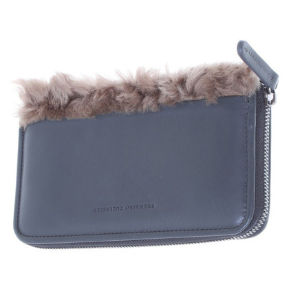 Brunello Cucinelli Elegant wallet leather
