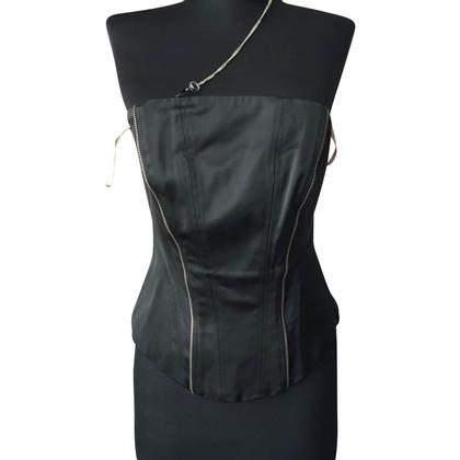 Karen Millen Black corset