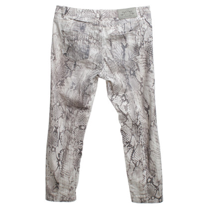 Marc Cain trousers with snake print