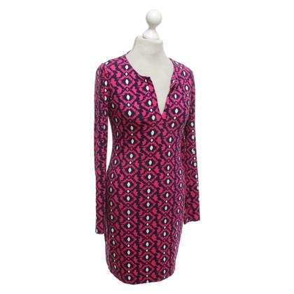 """Diane von Furstenberg Kleid """"Reina"""" mit Muster"""