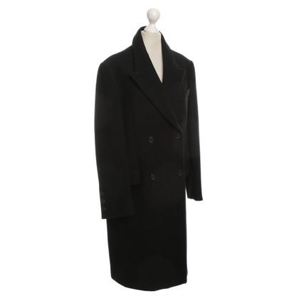 Prada zwart wol jas