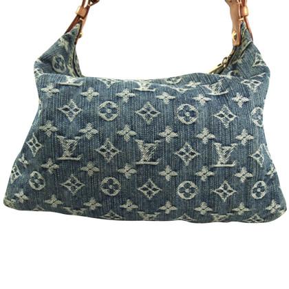 "Louis Vuitton ""Baggy PM Monogram Denim"""