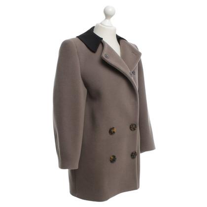 Miu Miu Short coat in beige