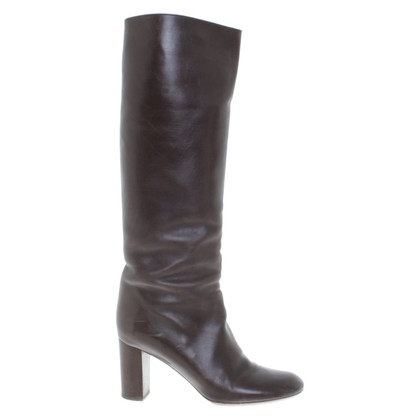 Chloé Boots in dark brown