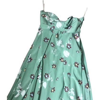 Valentino Bandeau silk dress