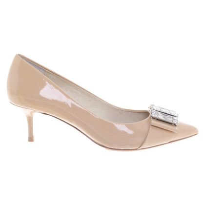 Michael Kors pumps in lakleder