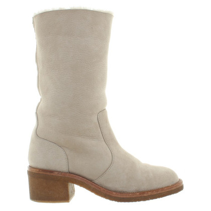 Chanel Boots schapenvacht