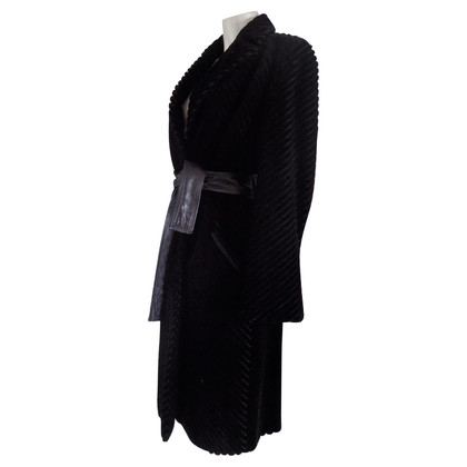 Gianni Versace Black Coat