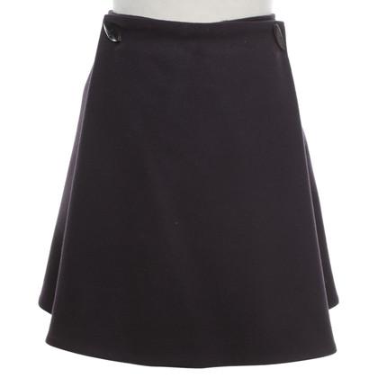 Alexander McQueen skirt in violet