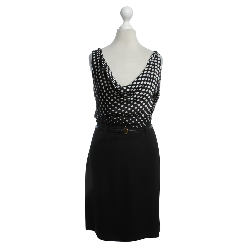 Alexander McQueen Dress in black / white