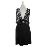 Alexander McQueen Dress in black / white