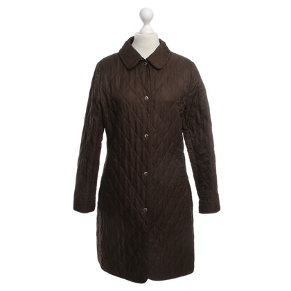 Burberry Quilted Coat in Brown