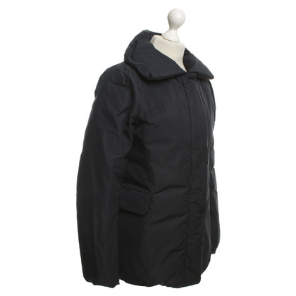 Jil Sander Daun Wendejacke in Dark Blue / Black