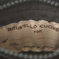 Brunello Cucinelli Portemonnaie in Metallic