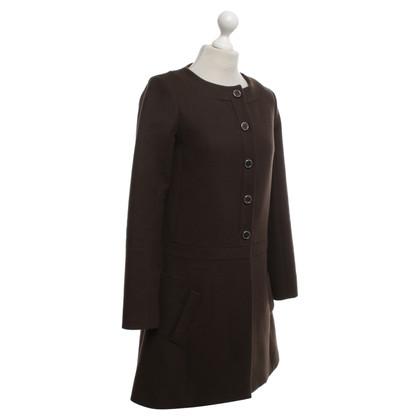 Chloé Coat in brown