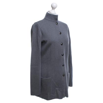 Wolford Long cardigan in dark gray