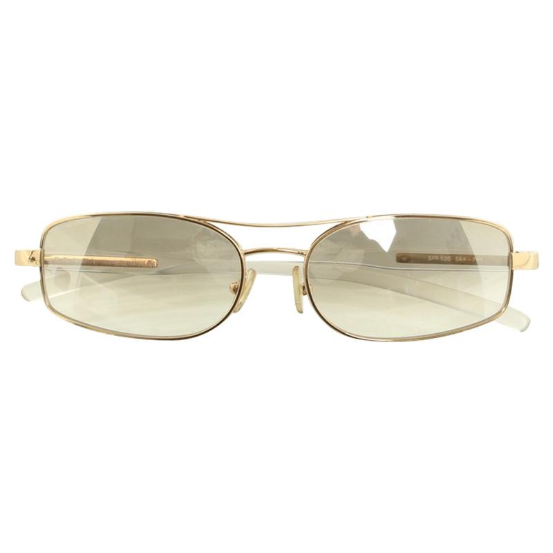 Prada Sonnenbrille mit hellen Gläsern Second Hand Prada