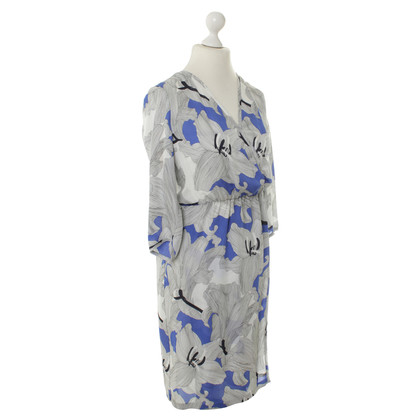 Rena Lange zijden jurk met print