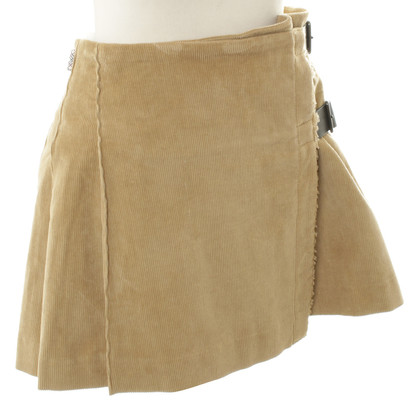 Burberry Wrap-around skirt with pleats