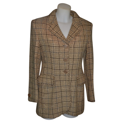 Moschino Cheap and Chic Blazer with plaid pattern