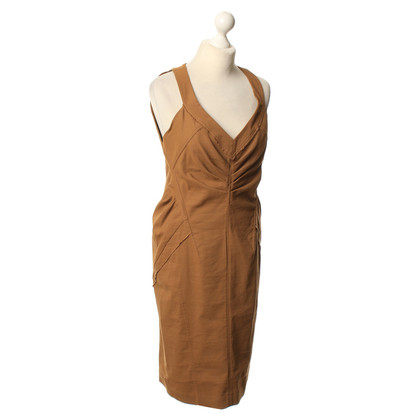 Donna Karan Ochre sheath dress