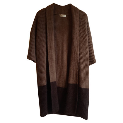 St. Emile Knitted coat in brown