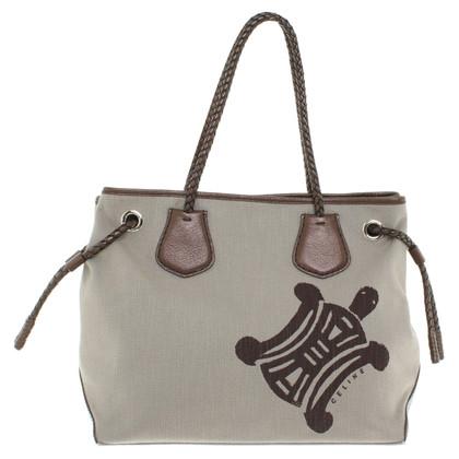 Céline Handbag with turtle print