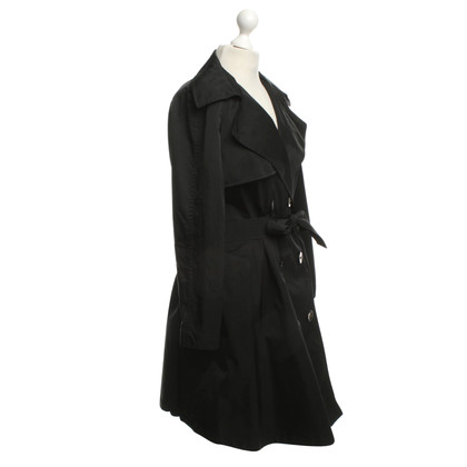 Lanvin Oversized Trenchcoat in zwart