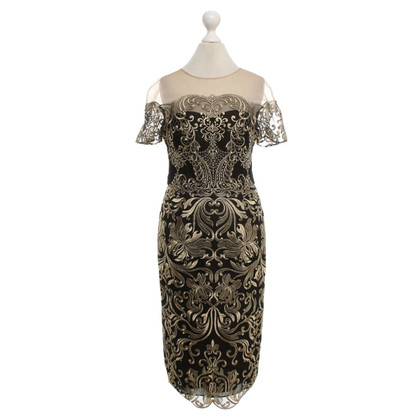Marchesa Dress with jacquard pattern