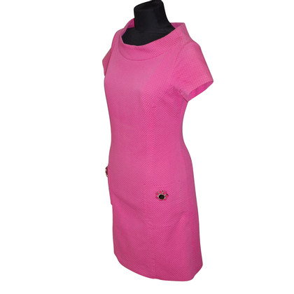 Piu & Piu Dress in pink with gemstones
