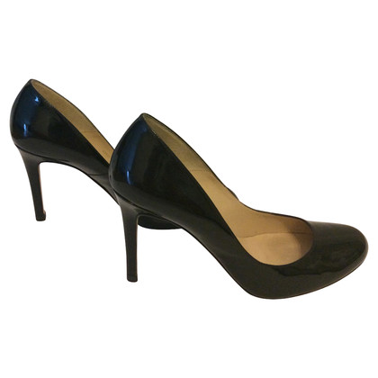 L.K. Bennett pumps patent leather black Gr. 38.5