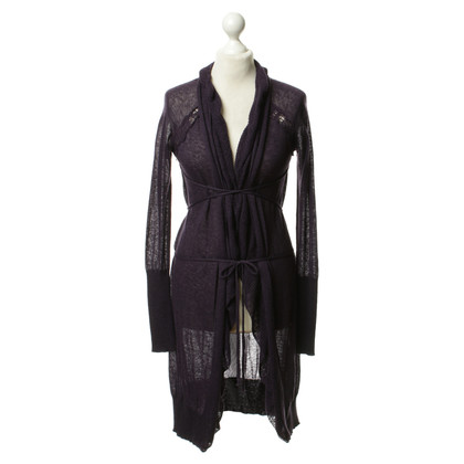 Ermanno Scervino Cardigan in purple