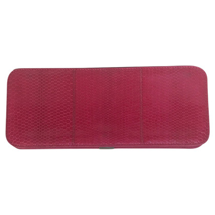 Jil Sander clutch in rosa