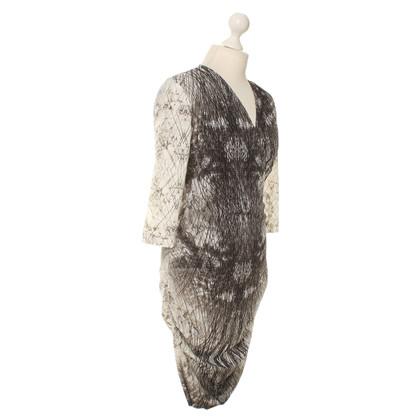 Set Kleid in Wickel-Optik