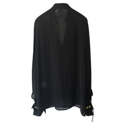 Givenchy Top 100% SILK with cooper studs