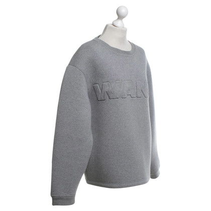 H&M (designers collection for H&M) Sweatshirt in Hellgrau