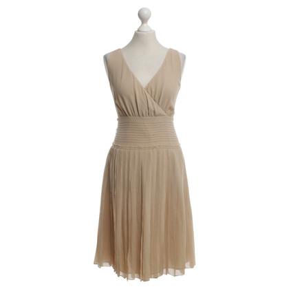 By Malene Birger Silk dress in beige