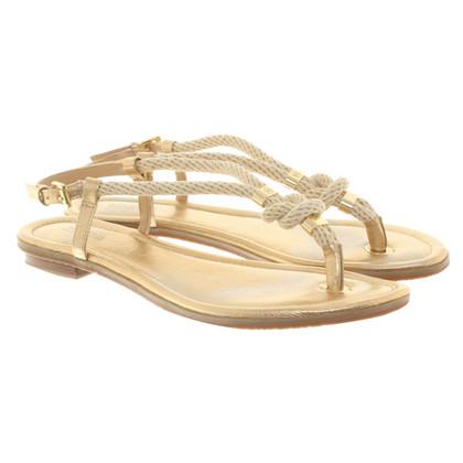 Michael Kors Sandals in gouden kleuren