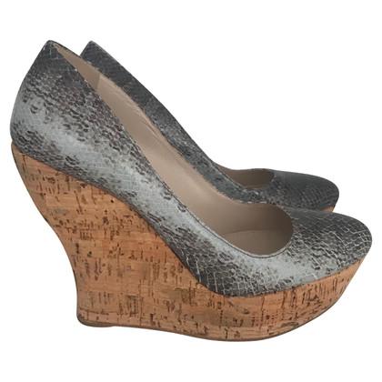 Miu Miu pumps with wedge heel