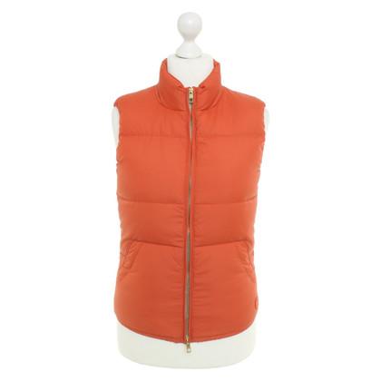Closed Vest in orange