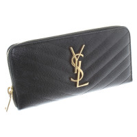 Saint Laurent Wallet with logo application