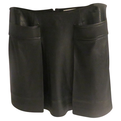 Tory Burch leather skirt
