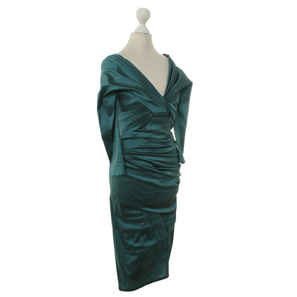 Talbot Runhof Dress in teal