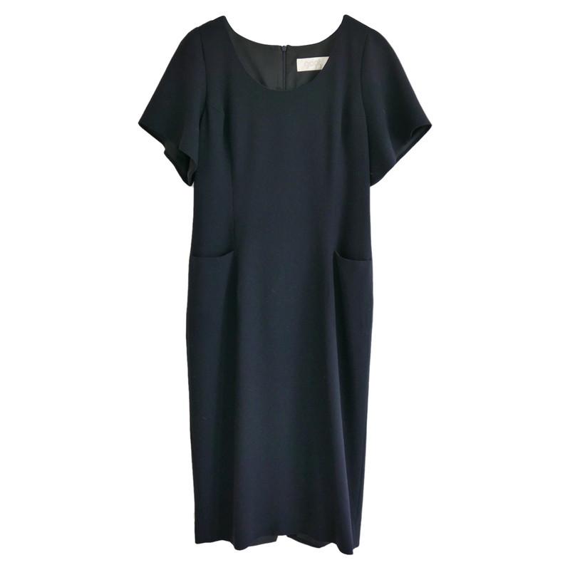 Kleid Second Hand Aus Wolle Blau In Goat KJc5luT3F1