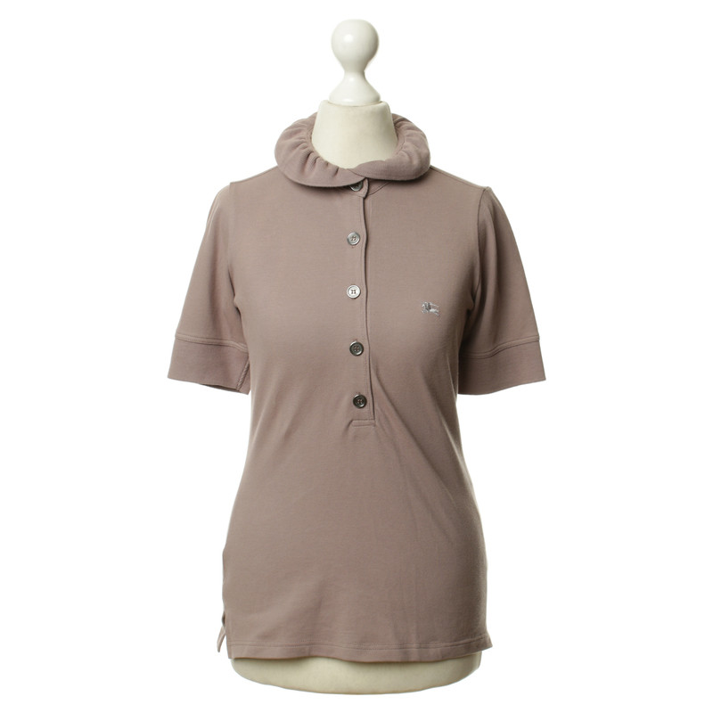 Burberry Polo Shirt In Pink Buy Second Hand Burberry